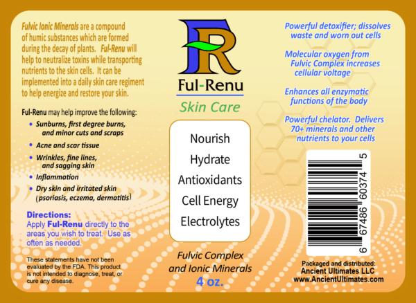 Label for Ful Renu